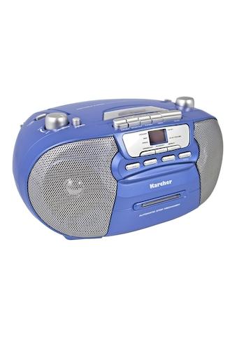"""Karcher Boombox »RR 5040-C """"Oberon""""«, (CD AM-Tuner-FM-Tuner) kaufen"""