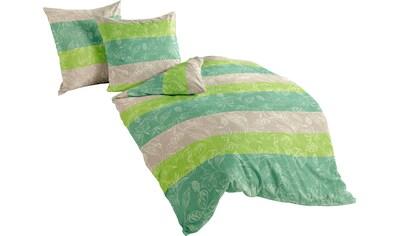 Bettwäsche »Apple green«, BIERBAUM kaufen