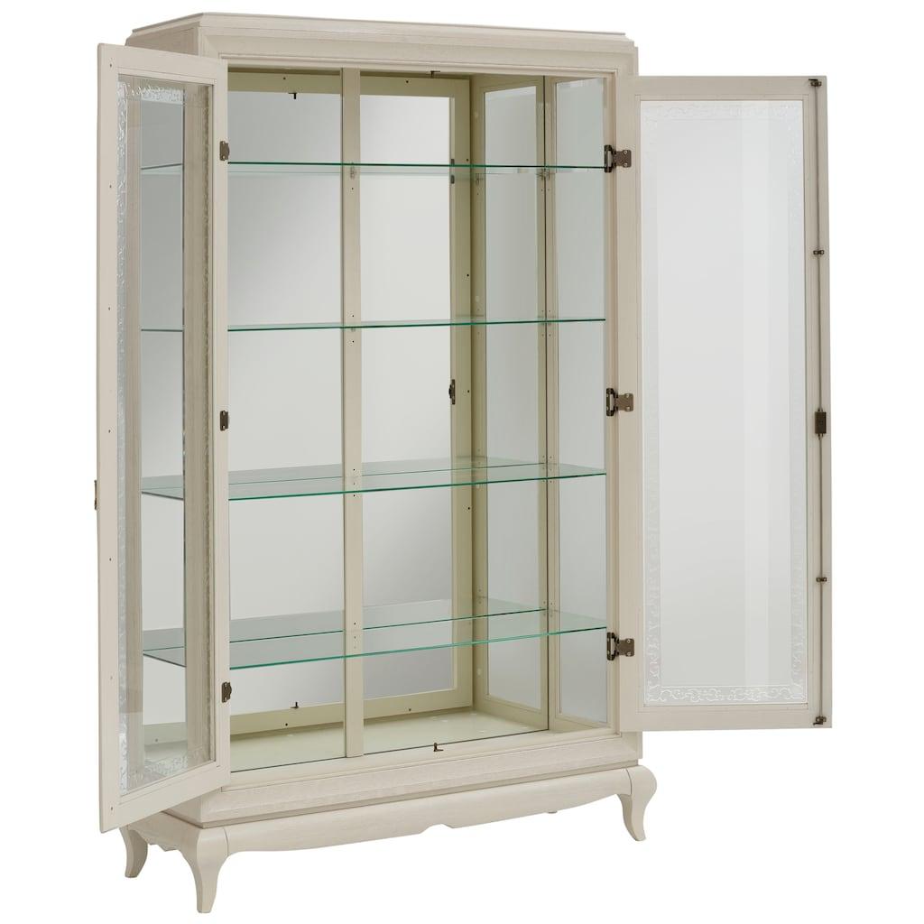DELAVITA Vitrine »Sonata«, mit ornamentreichen Verzierungen im Glas