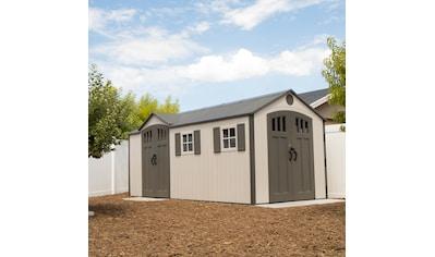 LIFETIME Set: Kunststoffhaus »Chateau«, BxT: 535x244 cm, inkl. Fußboden, Regale und Werkzeugtasche kaufen