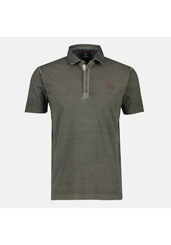 LERROS Poloshirt, mit Minimalstreifen in verwaschener Optik kaufen