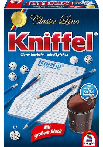 Schmidt Spiele Spiel »Classic Line, Kniffel®« kaufen