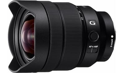 Sony Objektiv »SEL-1224G E-Mount Ultra-Weitwinkel G«, E 12-24mm F4, OSS, APS-C kaufen