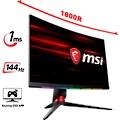 MSI »Optix MPG27CQ2« Gaming-Monitor (27 Zoll, 2560 x 1440 Pixel, WQHD, 1 ms Reaktionszeit, 144 Hz)
