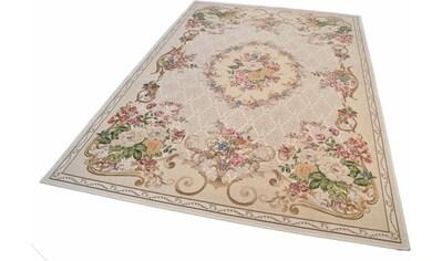 Teppich, »Flomi Floral«, THEKO, rechteckig, Höhe 3 mm, maschinell gewebt kaufen