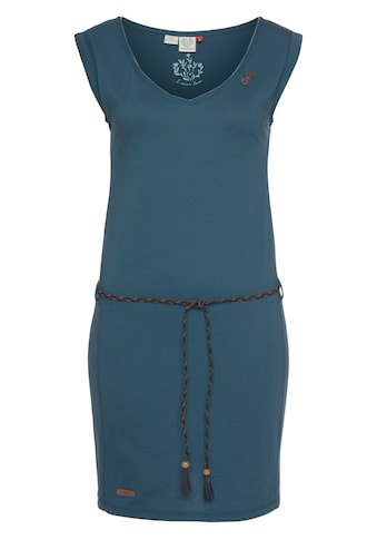 Ragwear Shirtkleid »SLAVKA«, (2 tlg., mit abnehmbarem Gürtel), mit kontrastierendem... kaufen