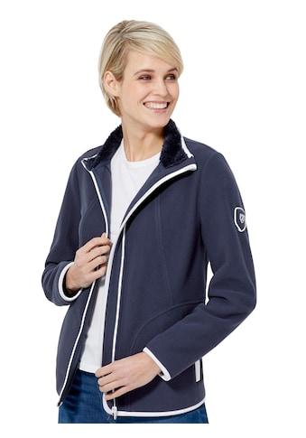 Fleece - Jacke mit Stehkragen kaufen