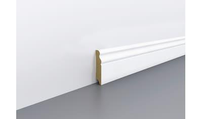 EGGER Sockelleiste »weiß geschwungen«, passend zu allen Fußboden Dekoren, weiß,... kaufen