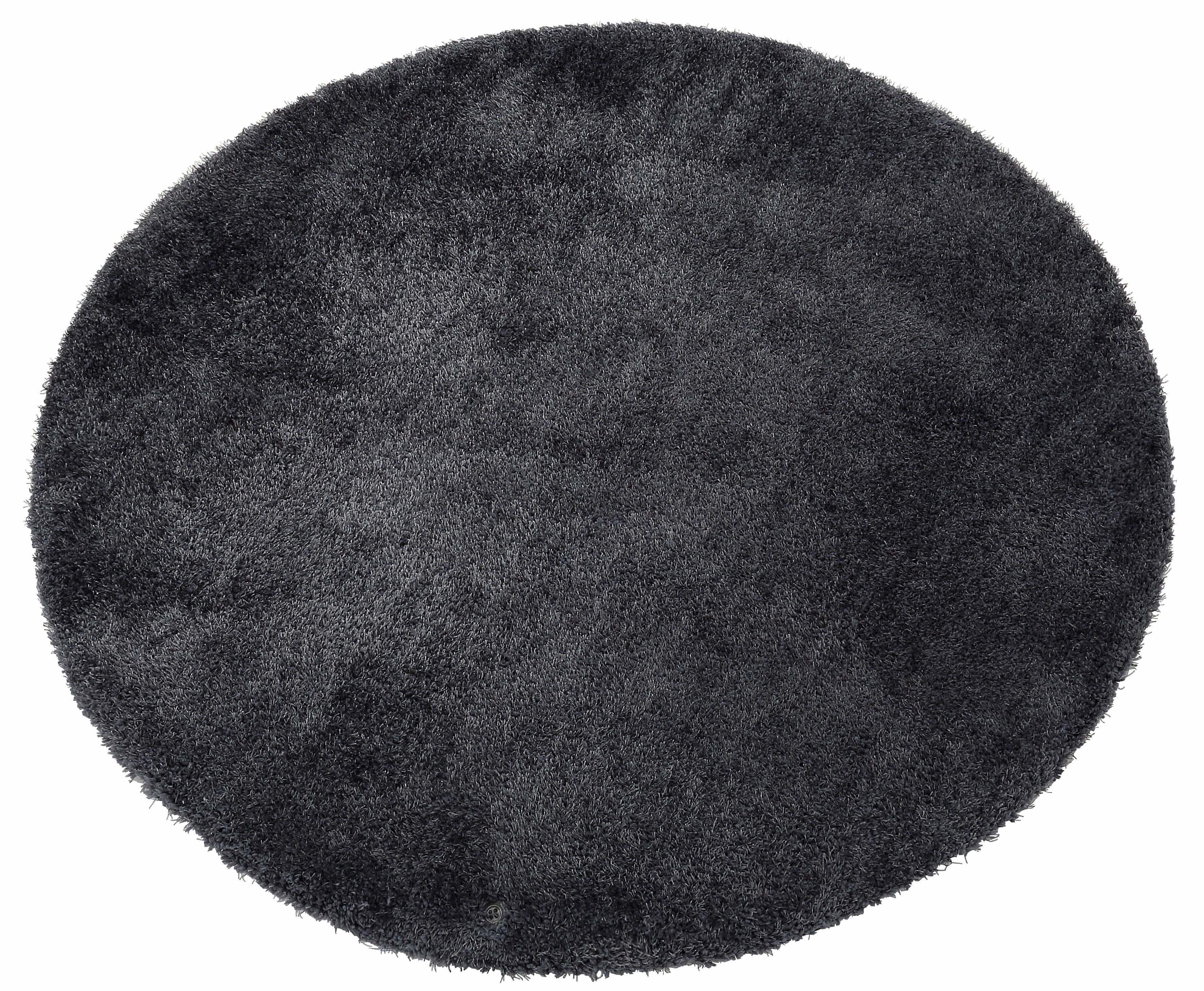 Hochflor-Teppich Soft TOM TAILOR rund Höhe 35 mm handgetuftet