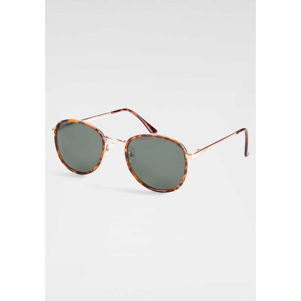 YOUNG SPIRIT LONDON Eyewear Sonnenbrille, mit dezentem Vollrand