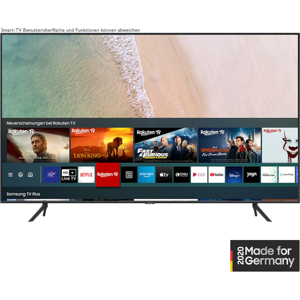 "Samsung QLED-Fernseher »GQ85Q70TGT«, 214 cm/85 "", 4K Ultra HD, Smart-TV"