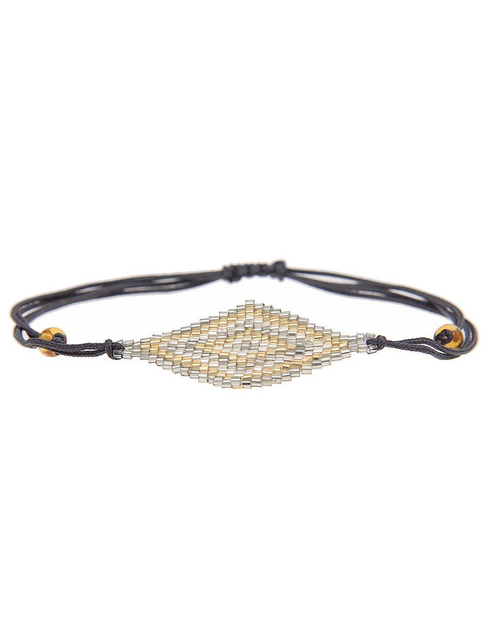 leslii Armband, im zweireihigen Look schwarz Damen Armband Armbänder Schmuck 4250980354334