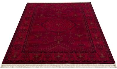 DELAVITA Teppich »Nino«, rechteckig, 12 mm Höhe, Orient-Optik, Wohnzimmer kaufen