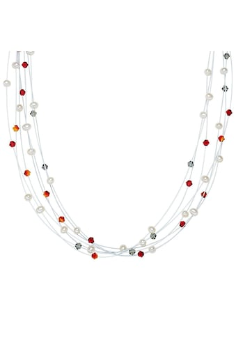 Valero Pearls Perlenkette »A1013«, (1 tlg.), aus Süßwasser-Zuchtperlen kaufen
