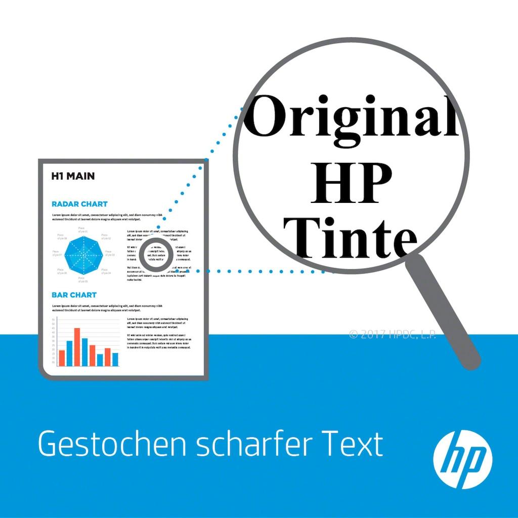 HP Tintenpatrone »hp 917XL Original Schwarz«, (1 St.)