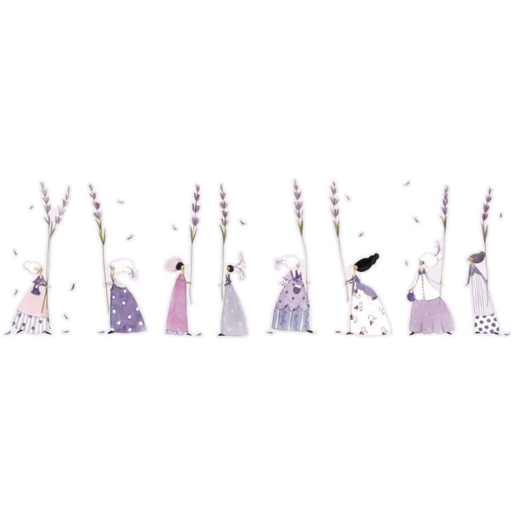 Wall-Art Wandtattoo »Lavendel Fee Blumen Aufkleber«