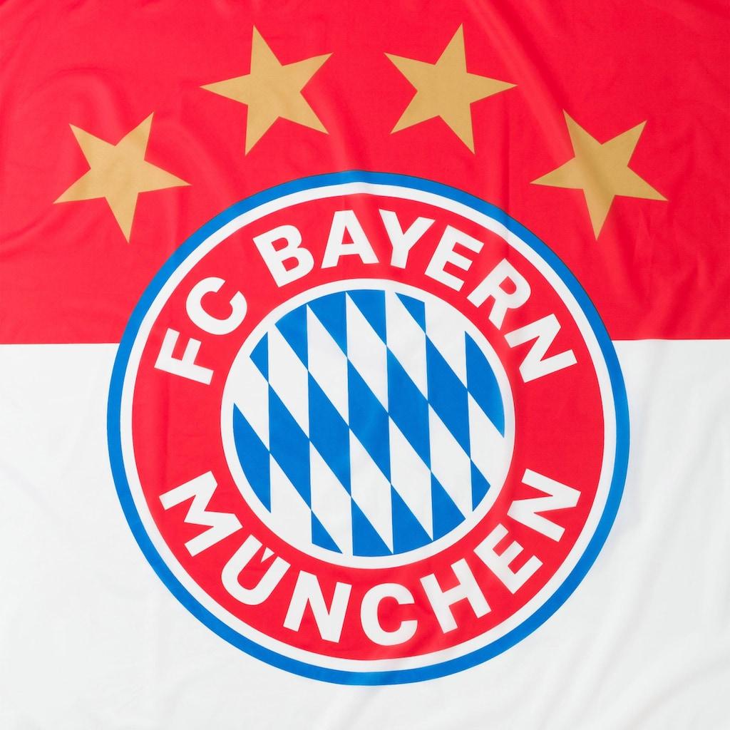 FC Bayern Fahne »Hissfahne Logo FCB«