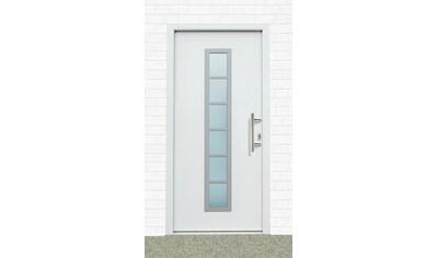 KM MEETH ZAUN GMBH Aluminium - Haustür »A04«, BxH: 98x208 cm, weiß, in 2 Varianten kaufen