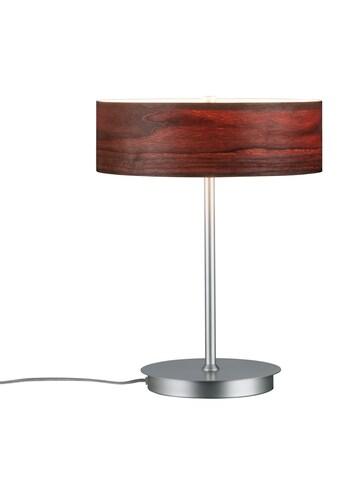 Paulmann,LED Tischleuchte»Neordic Liska Holz dunkel/Chrom matt«, kaufen