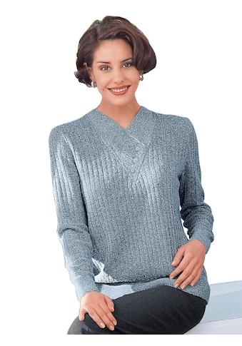 Classic Pullover in topmodischer Rippenstruktur kaufen