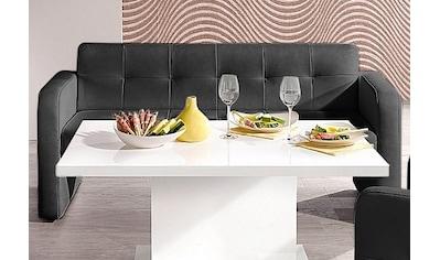 exxpo - sofa fashion Hockerbank, mit Rückenlehne kaufen