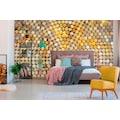 Architects Paper Fototapete »Atelier 47 Lavillia Orange«, 3D-Optik