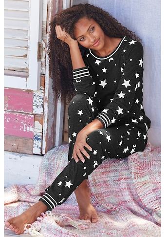 Vivance Dreams Pyjama, mit Sternedruck kaufen