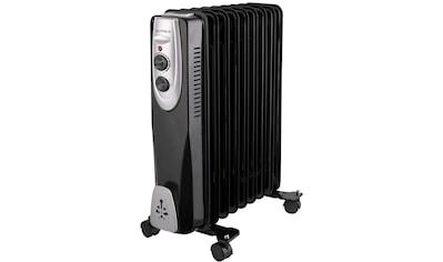 Gutfels Ölradiator »HR 32009 sw«, 2000 W kaufen
