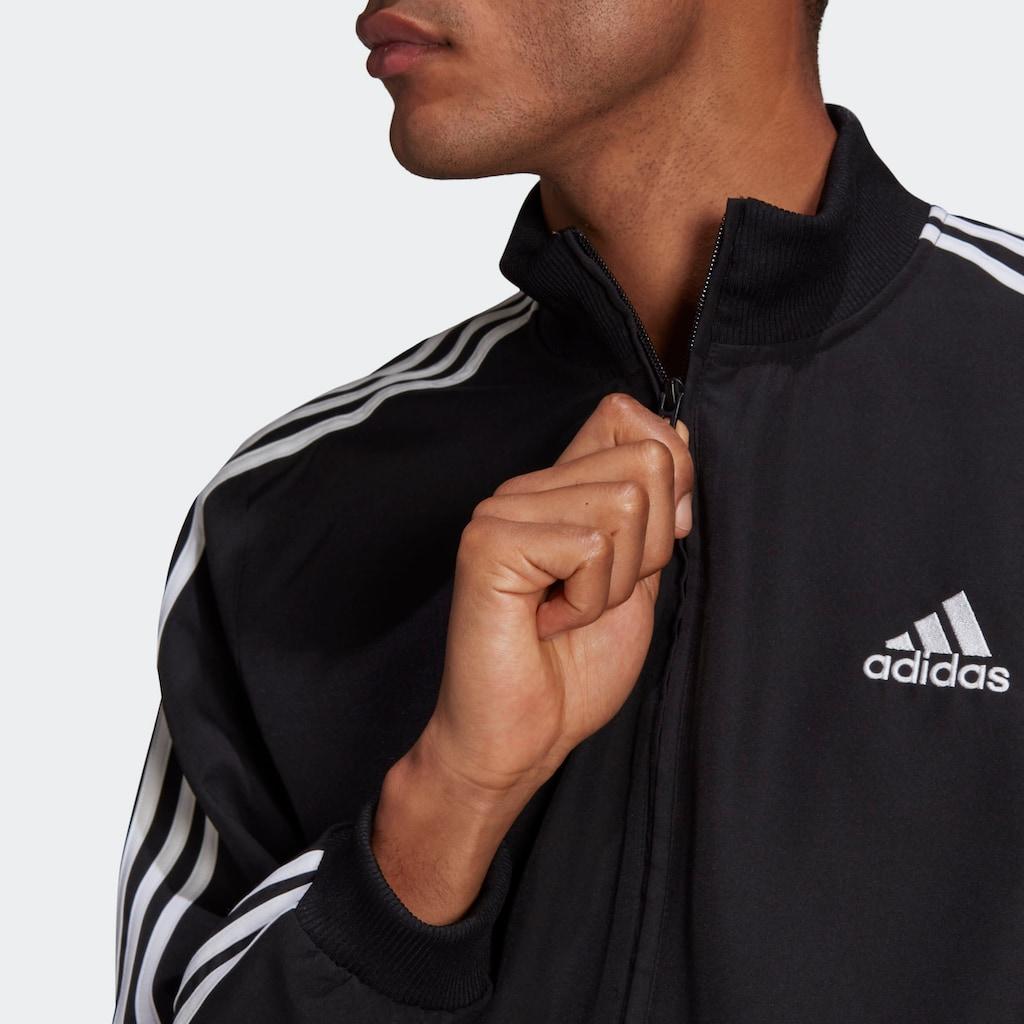 adidas Performance Trainingsanzug »AEROREADY ESSENTIALS REGULAR-FIT 3-STREIFEN«, (Set, 2 tlg.)
