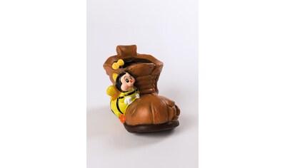 HGD Holz - Glas - Design 2er - Set Blumentopf Keramik - Schuh mit Biene kaufen