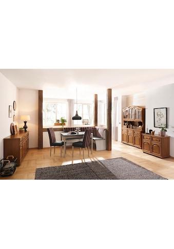Home affaire Essgruppe »Denis«, (Set, 3 tlg.), Set bestehend aus Essbank, Tisch und 2... kaufen