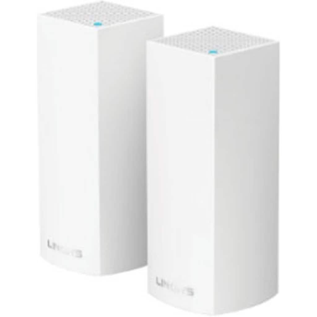 LINKSYS LAN-Router »Velop Mesh WLAN-System, Tri-Band, 2er-Pack, WHW0302-EU«