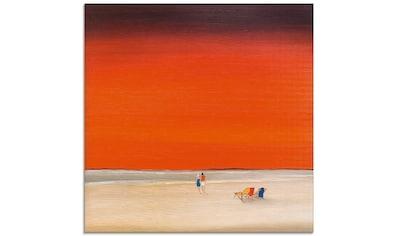 Artland Glasbild »Gute Zeiten I«, Himmel, (1 St.) kaufen