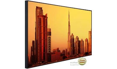 Papermoon Infrarotheizung »Stadt bei Sonnenuntergang«, sehr angenehme Strahlungswärme kaufen