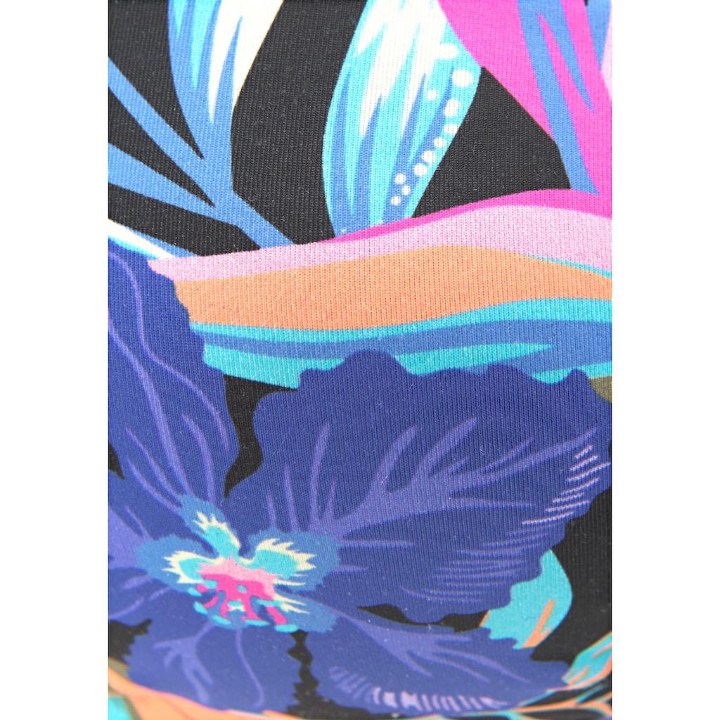 Bench. Bandeau-Bikini-Top »Pitch«, mit farbenfrohem Druck