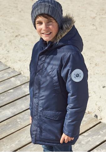 TOM TAILOR Polo Team Parka »mit reflektierendem Label« kaufen