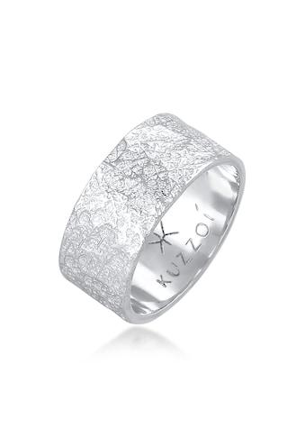 Kuzzoi Silberring »Herren Bandring Organic Struktur 925 Silber« kaufen