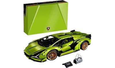 LEGO® Konstruktionsspielsteine »Lamborghini Sián FKP 37 (42115), LEGO® Technic«, (3696 St.), Made in Europe kaufen