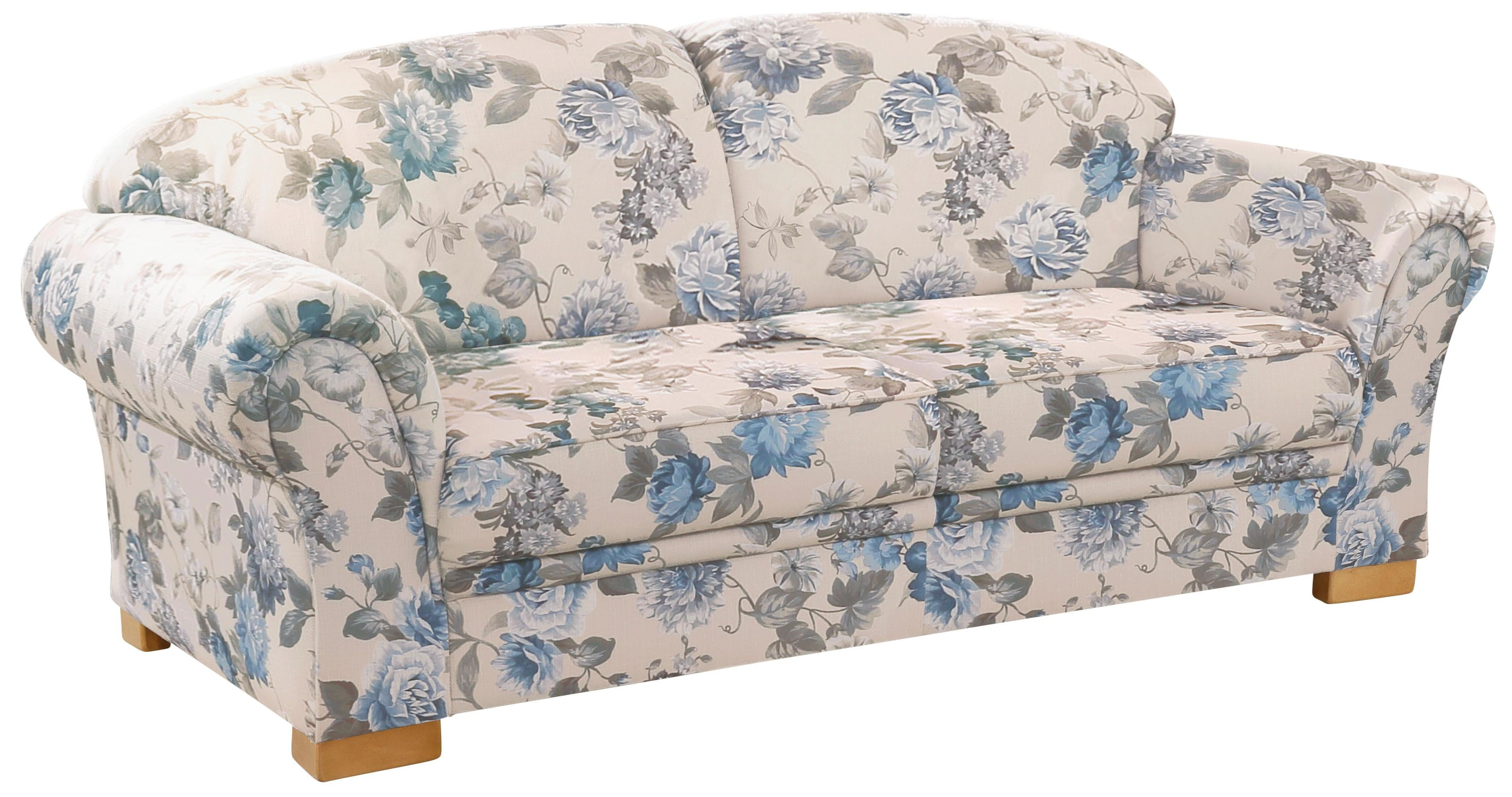 Home affaire 3-Sitzer »Amrum«, mit Blumenmuster, mit Federkern