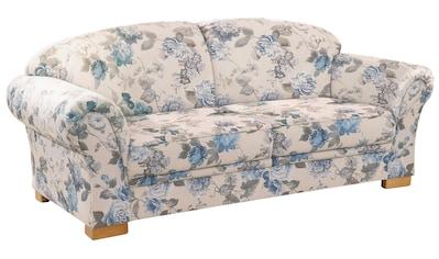 Home affaire 3-Sitzer »Amrum«, mit Blumenmuster, mit Federkern kaufen