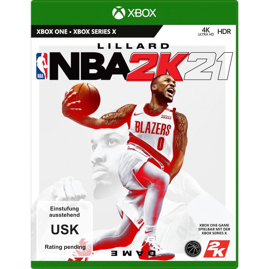 2K Spiel »NBA 2K21«, Xbox One