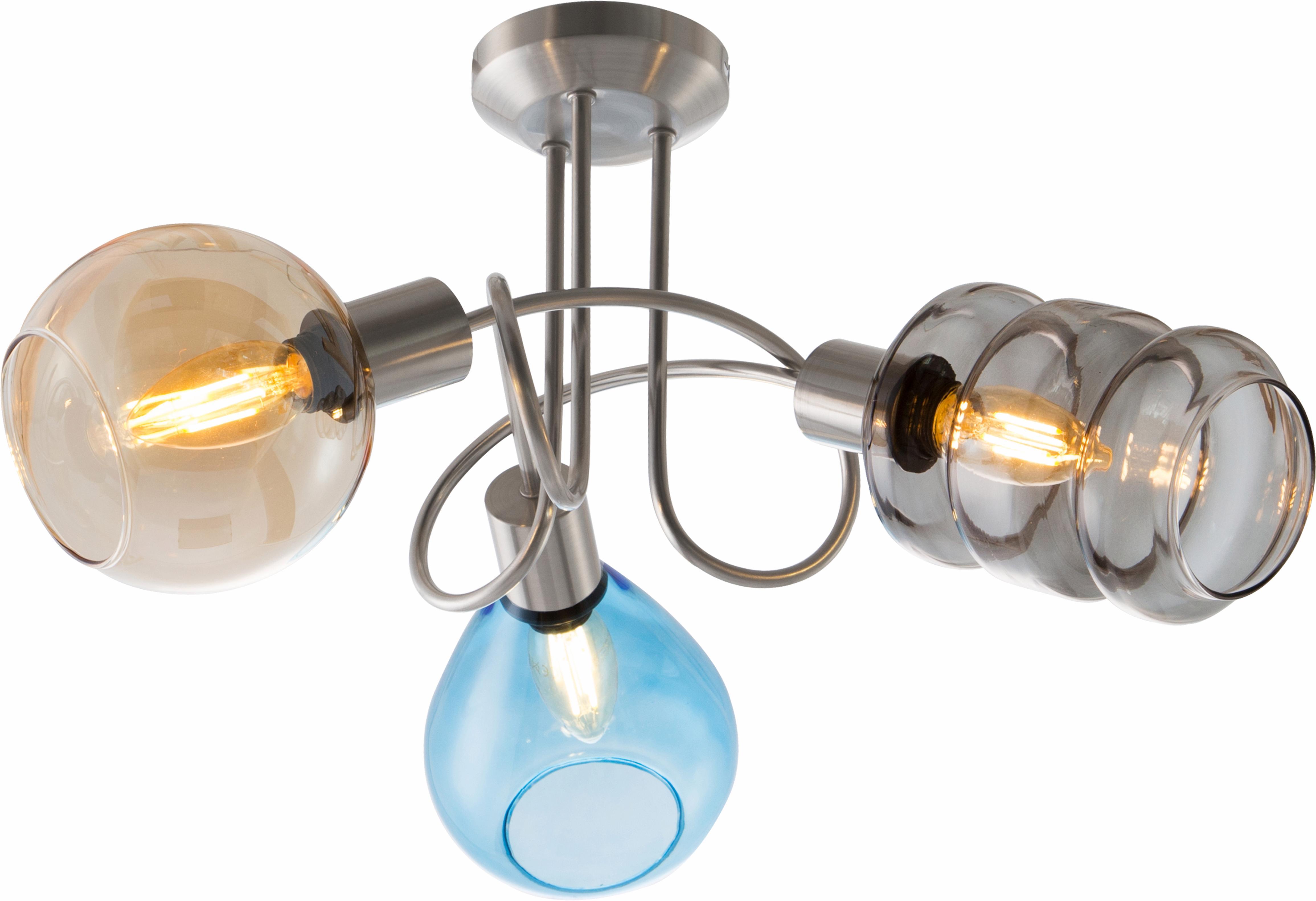 Nino Leuchten Deckenleuchte PESARO, E14, Deckenlampe