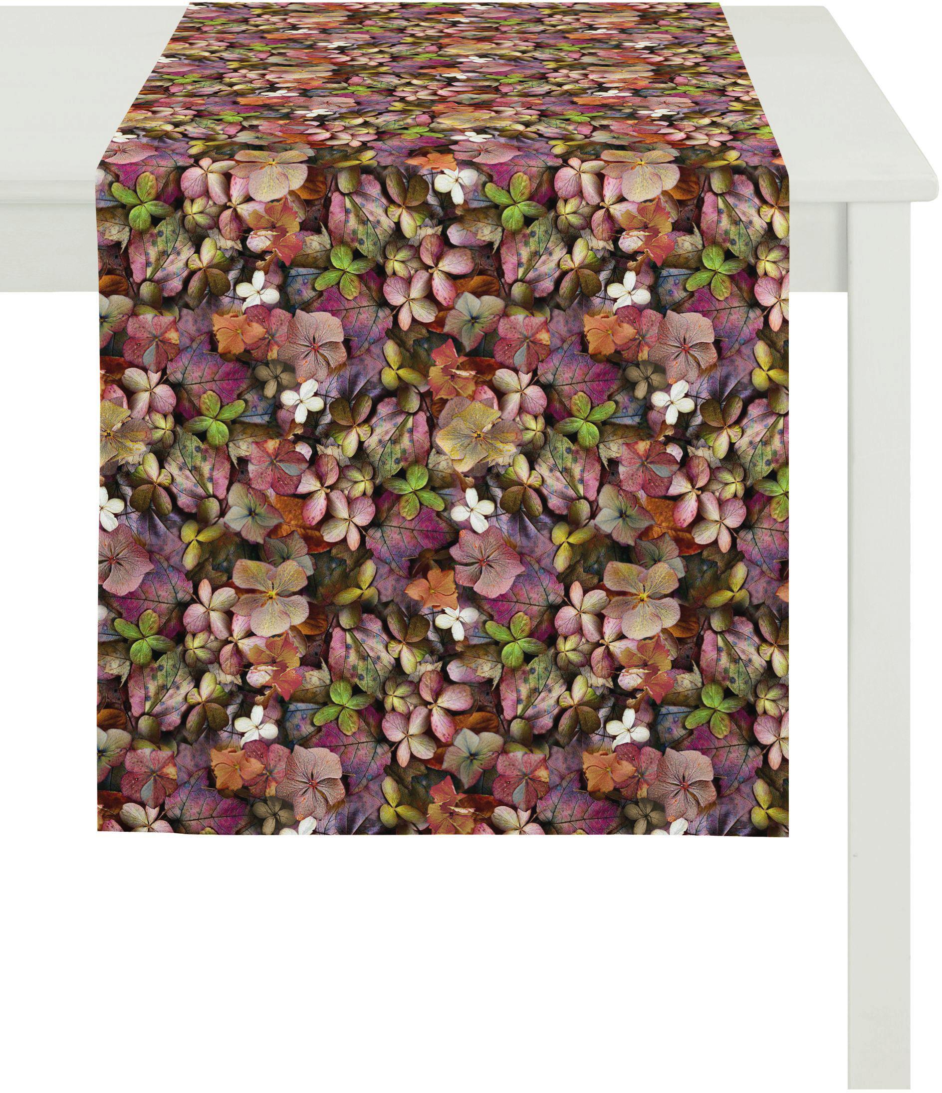 Apelt Tischläufer, 48x140 cm, »2917 Indian Summer« | Heimtextilien > Tischdecken und Co > Tischläufer | Bunt | Baumwolle | APELT