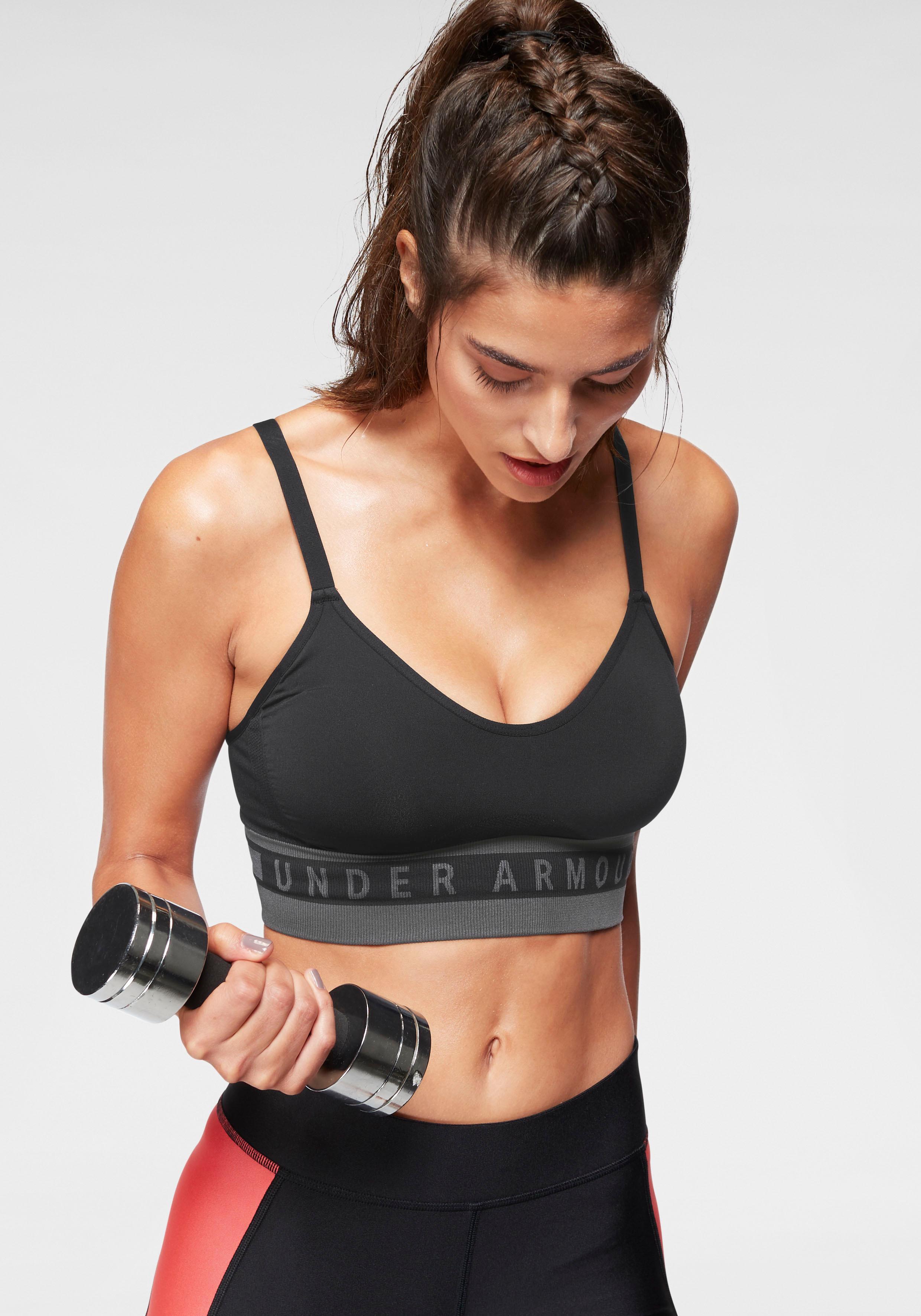 Under Armour® Sport-BH »Seamless Longline Bra«
