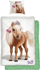 Kinderbettwäsche Tiara Pony