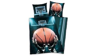 Herding Young Collection Jugendbettwäsche »Basketball«, mit Basketballkorb kaufen