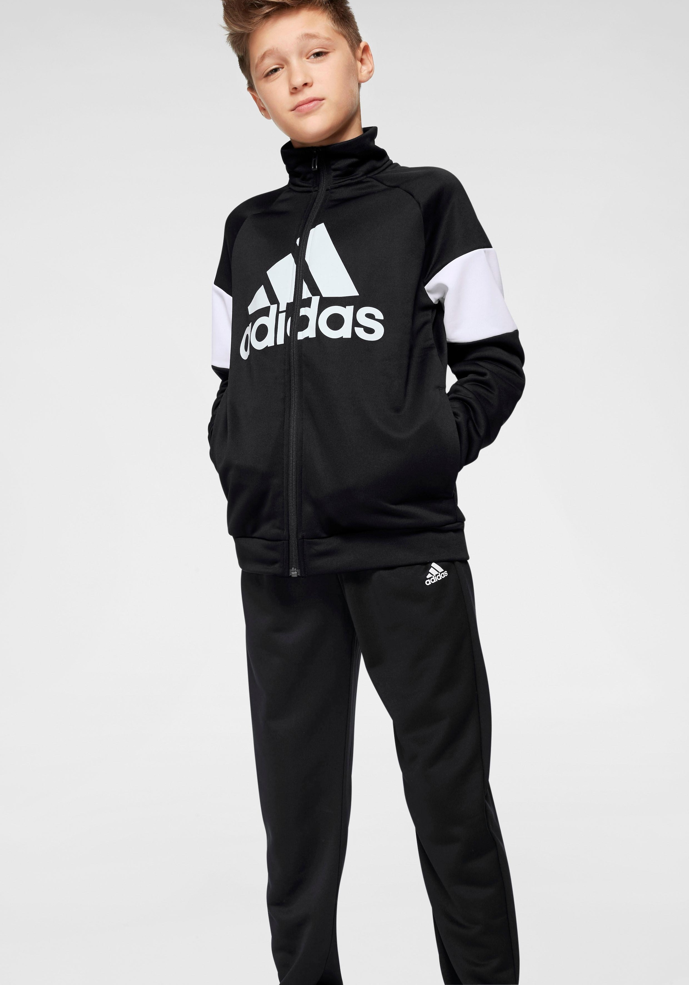 adidas Performance Trainingsanzug »YOUNG BOYS TRACKSUIT BATCH OF SPORT« (Set, 2 tlg.)   BAUR