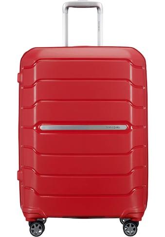 """Samsonite Hartschalen - Trolley """"Flux, 68 cm, red"""", 4 Rollen kaufen"""