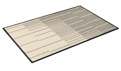 wash+dry by Kleen-Tex Fußmatte »Linus«, rechteckig, 7 mm Höhe, Fussabstreifer, Fussabtreter, Schmutzfangläufer, Schmutzfangmatte, Schmutzfangteppich, Schmutzmatte, Türmatte, Türvorleger, In- und Outdoor geeignet, waschbar kaufen