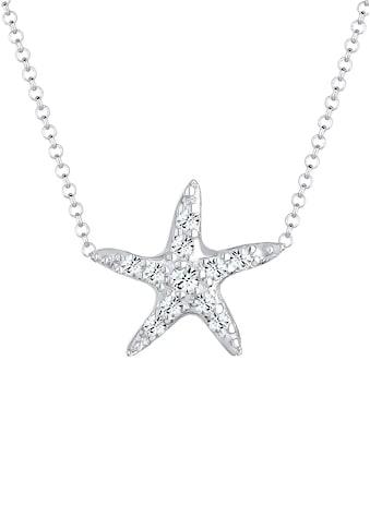 Elli Collierkettchen »Seestern Swarovski® Kristalle 925 Sterling Silber« kaufen